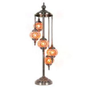 TL51 - 5 Tier Turkish Lamp