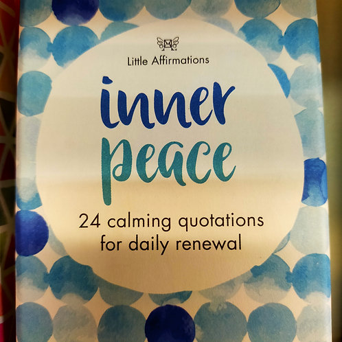Inner Peace Little Affirmation Cards