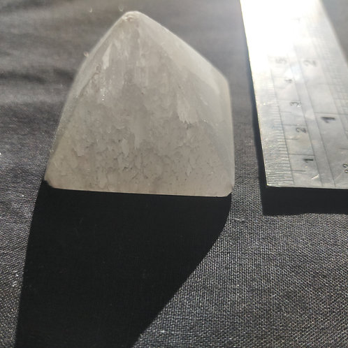 Selenite Small Pyramid $14