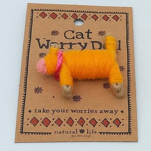 Worry Doll Cat
