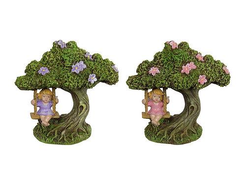 10cm Fairy in Tree Swing