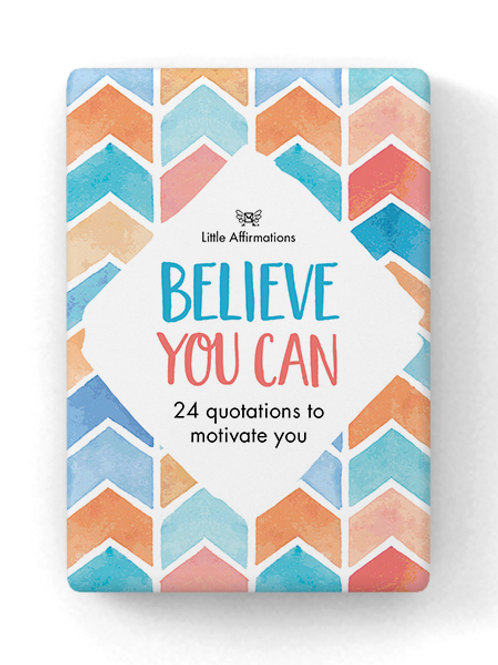 Believe You Can Affirmation Cards