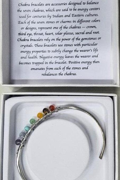 Stainless Chakra Bracelet