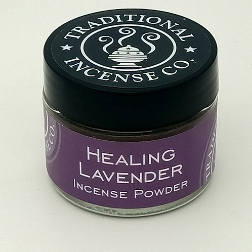 Healing Lavender Incense Powder 20gm