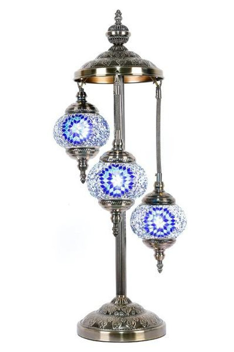 TL42 - 3 Tier Turkish Lamp