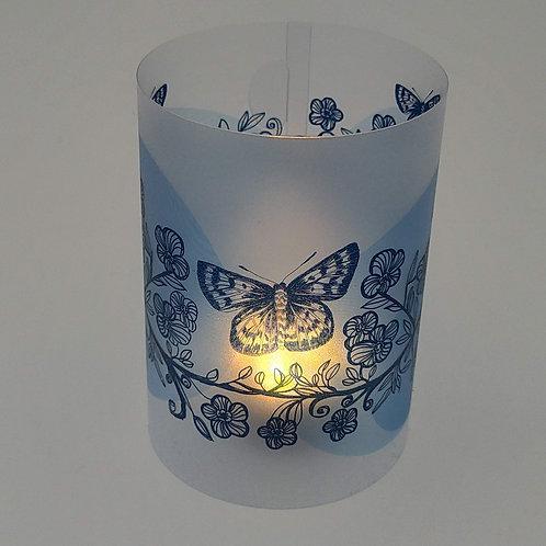 Tealight Lantern Manuka Flowers