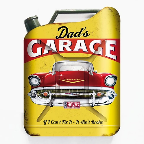 Dads garage jerry can