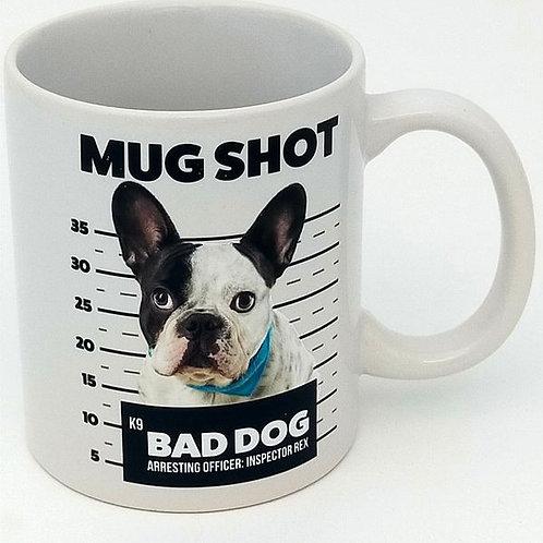 Mug Shot French Bulldog Mug