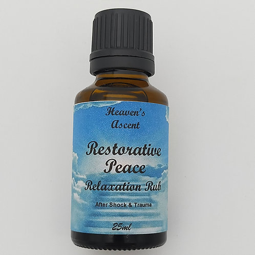 Restorative Peace Massage Oil 25mls