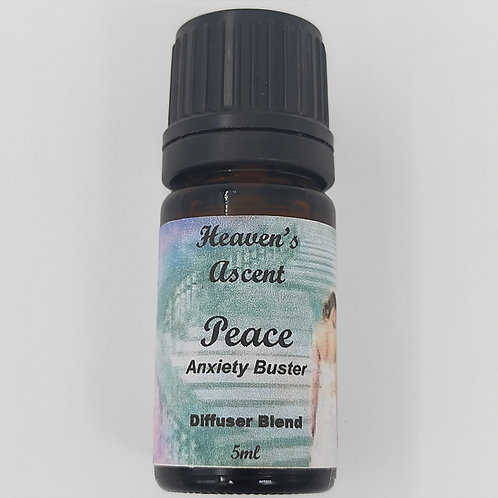 Peace Anxiety Buster: Diffuser Blend 5mls