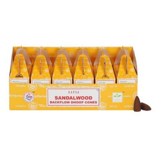 Sandalwood Backflow Burner Cones