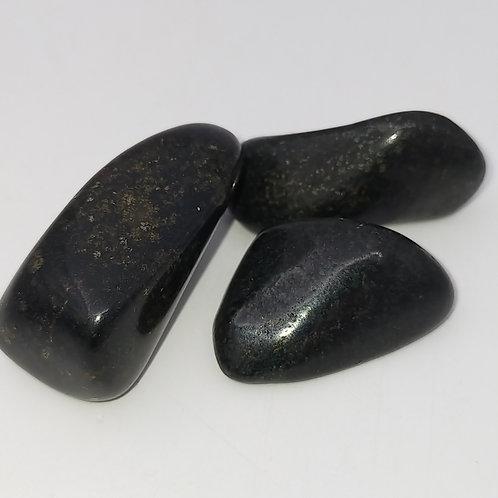 Lemurian Black Jade Tumble