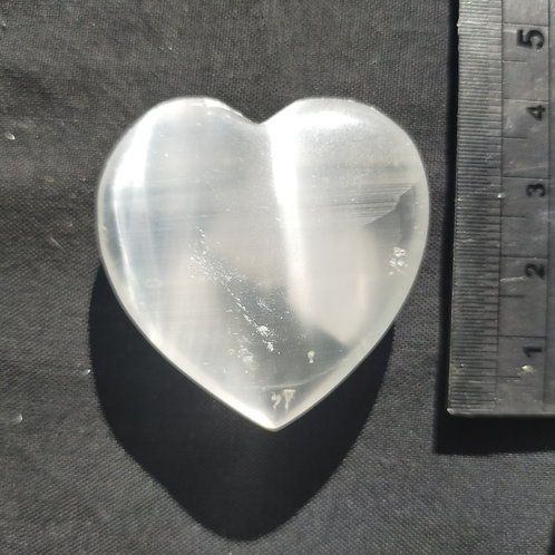 Selenite Heart 40mm $25