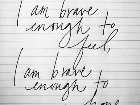 "What ""Brave Enough"" means..."