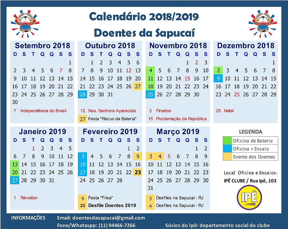 Calendario DOENTES 2018_2019  v20190201