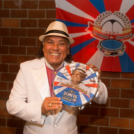 Paulinho Mocidade é o convidado especial da 4a edição do Festival de Samba