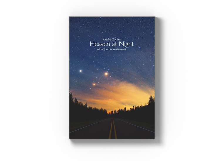 HEAVEN AT NIGHT (Score and Parts)
