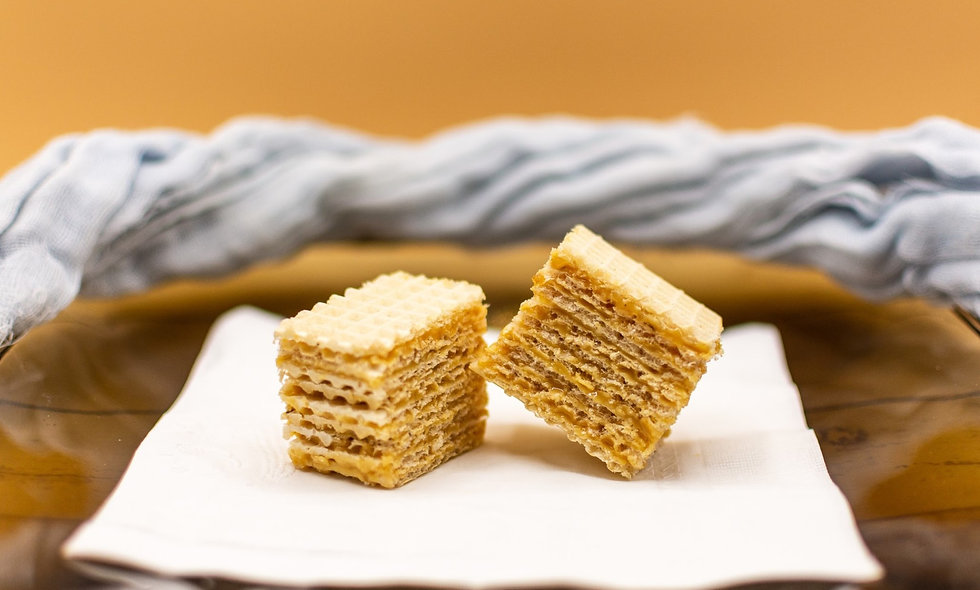 Dulce de Leche Wafer Cake