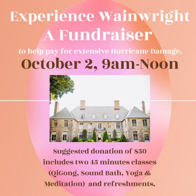 Fundraiser for Wainwright House