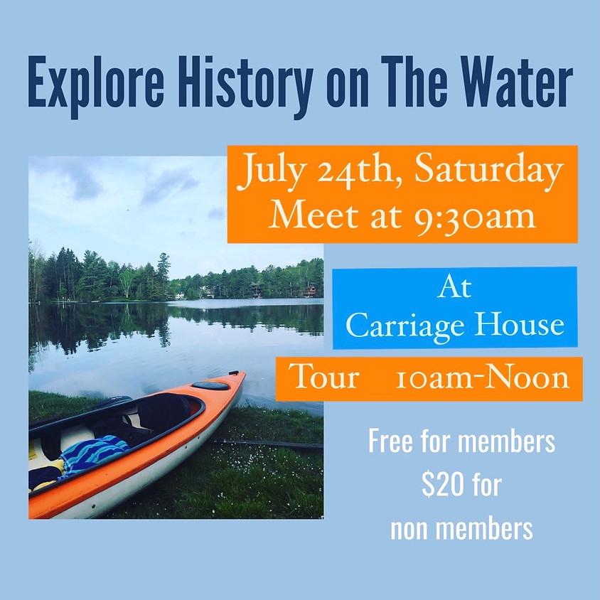 Kayak + Historical Tour - Rescheduled Date