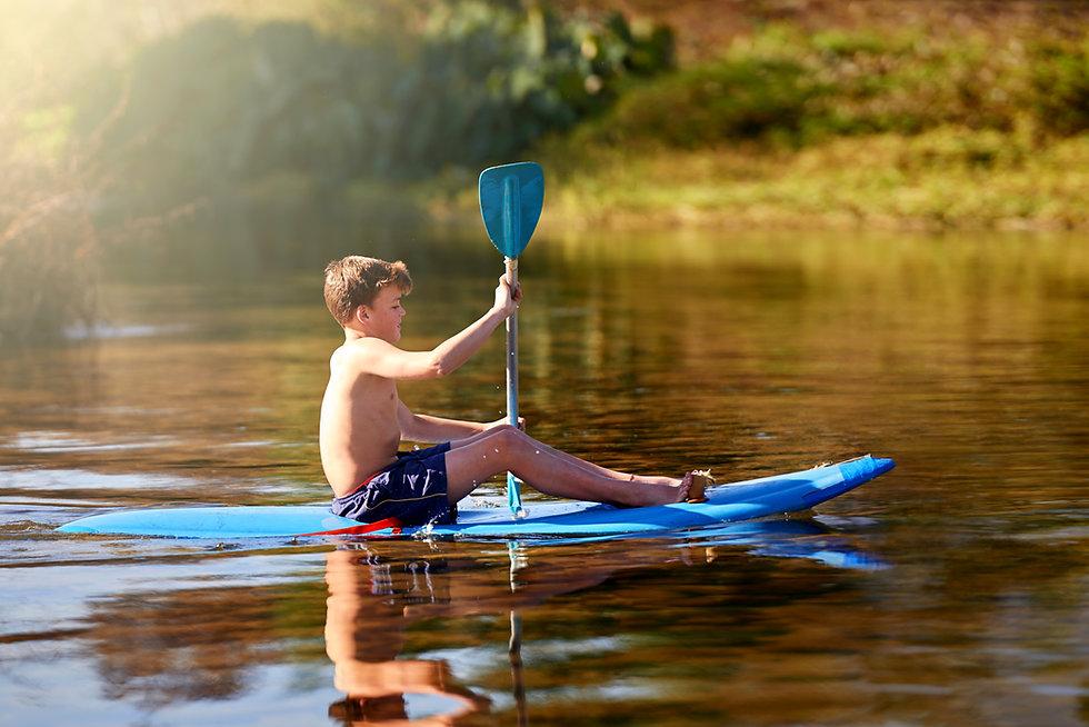 Kid Rowing