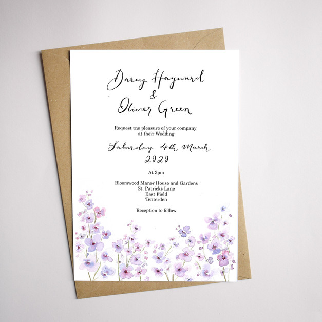 purple lilac flower invites.jpg
