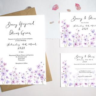 Lilac Invitations - House design