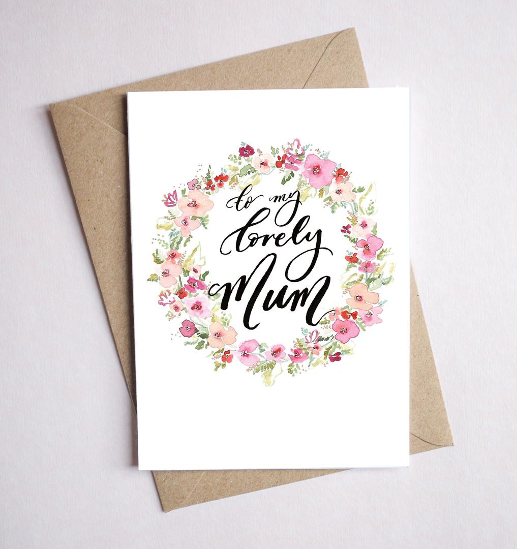 Lovely Mum cards