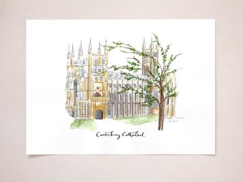 Landmark/venue Illustration