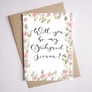coral bridesmaid card  3.jpg