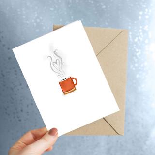 coffe card.