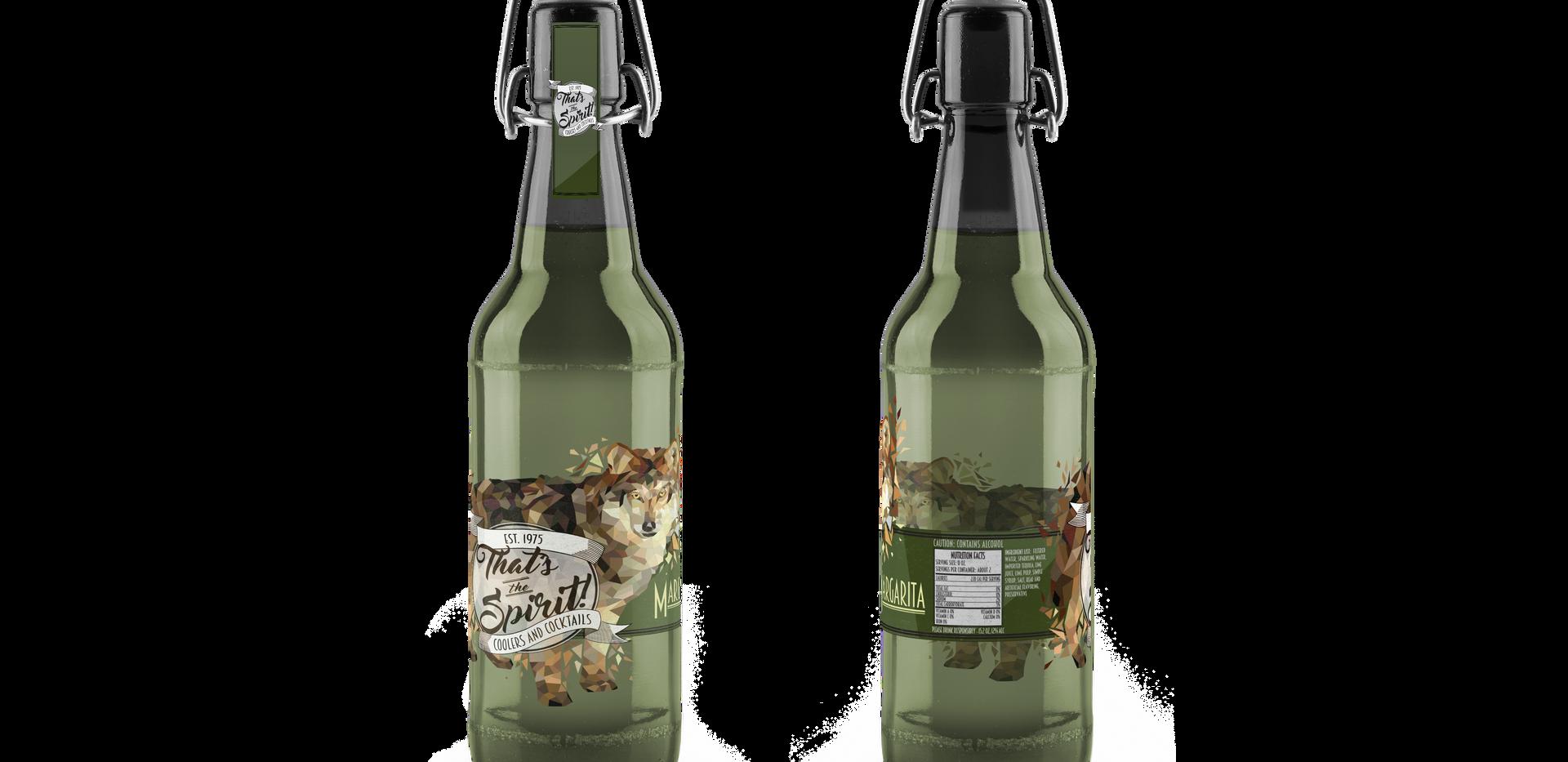 That's The Spirit | Margarita Wolf Bottle