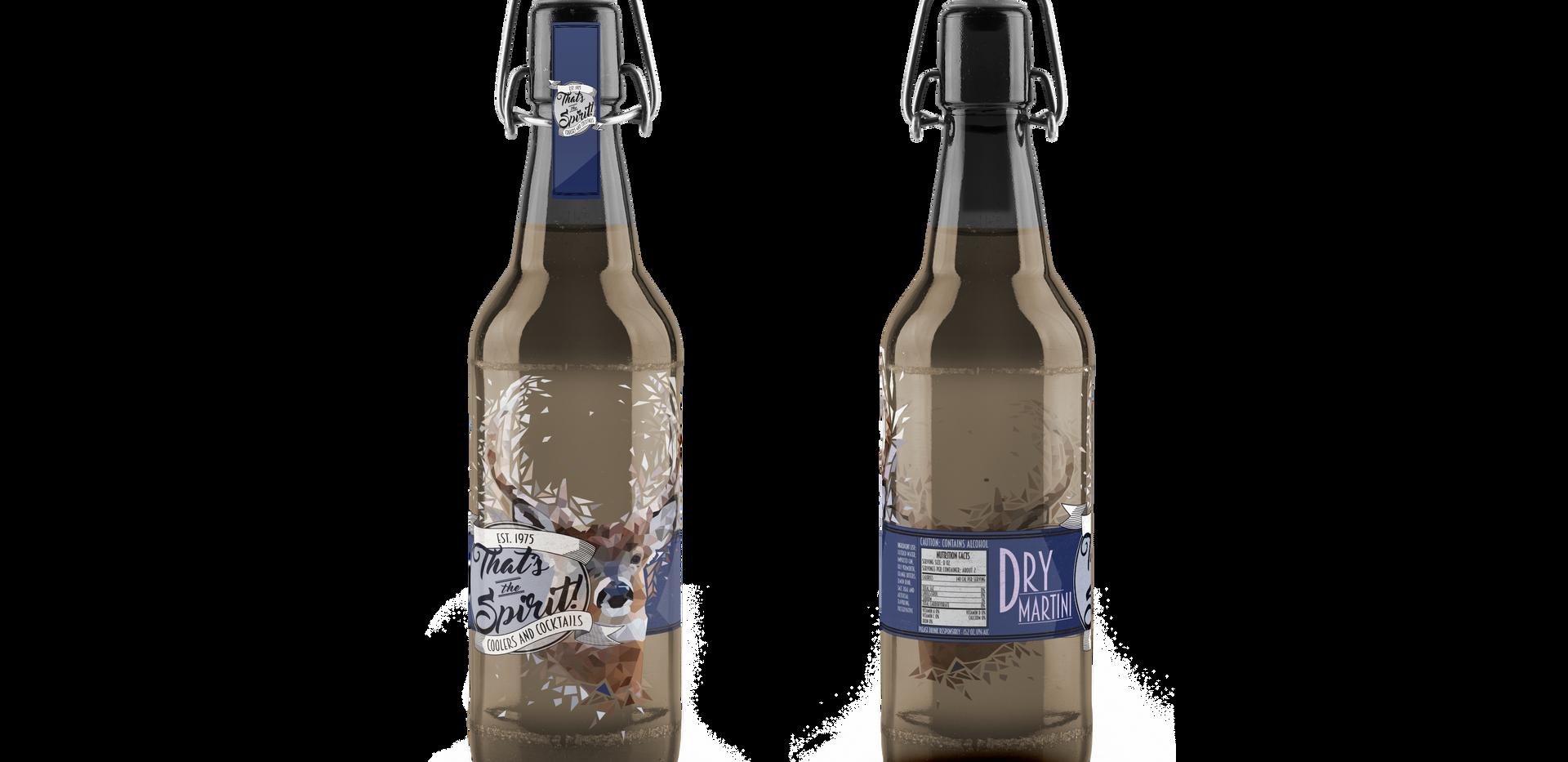 That's The Spirit | Dry Martini Deer Bottle