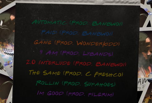 Sunny Picasso | Back of 4AM