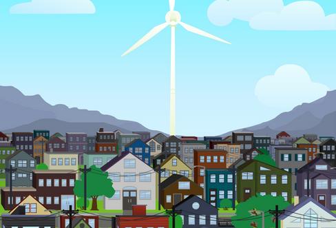 Go Green. Save Green. | Wind Turbine Energy Ad