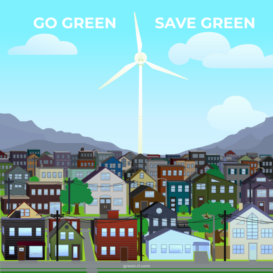 Go Green. Save Green.