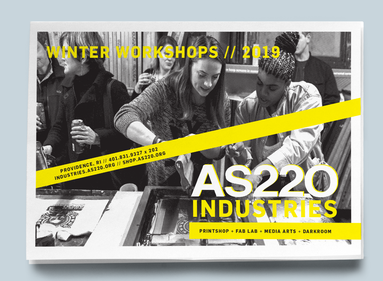 AS220 | Winter Workshop 2018-19 Cover