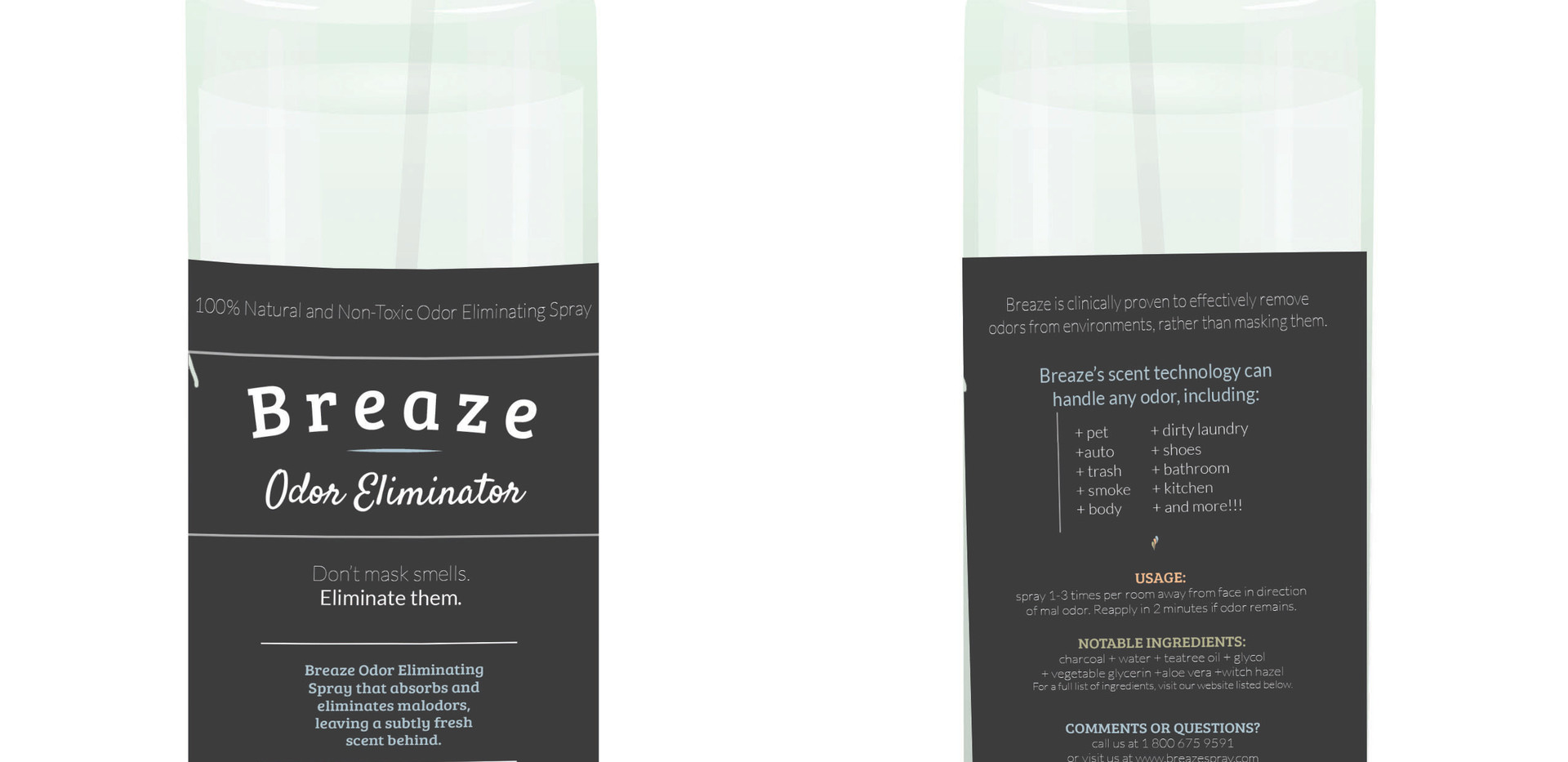 Breaze   Bottle Design