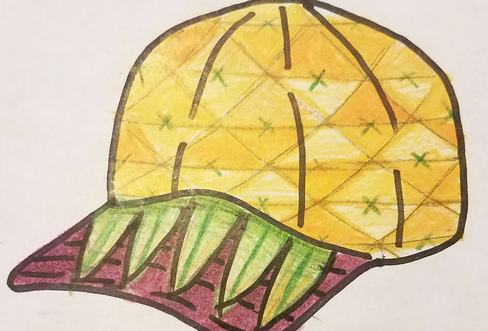 FLIP Apparel Co. | Pineapple Sketch
