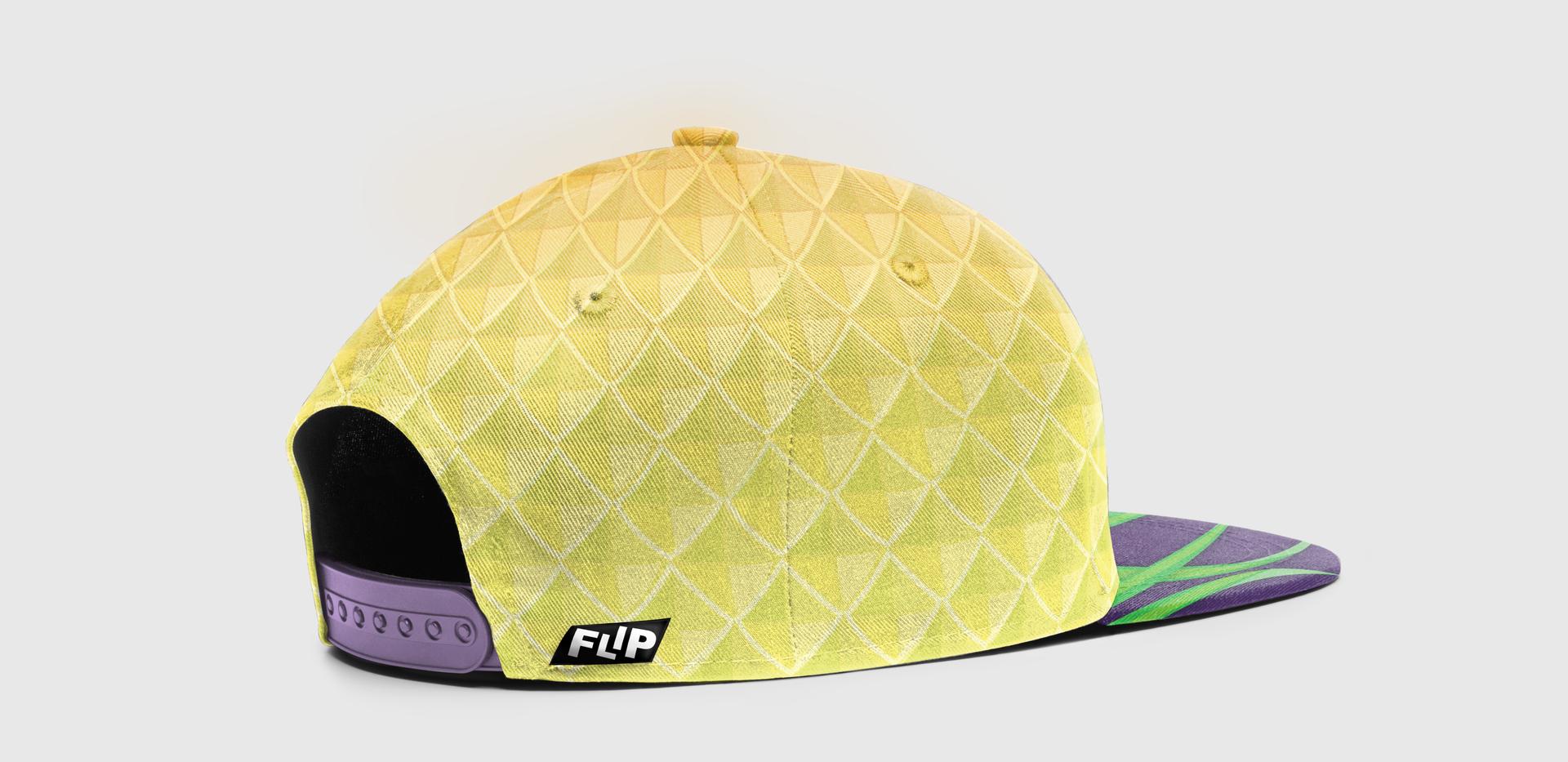 FLIP Apparel Co. | Pineapple Hat Back