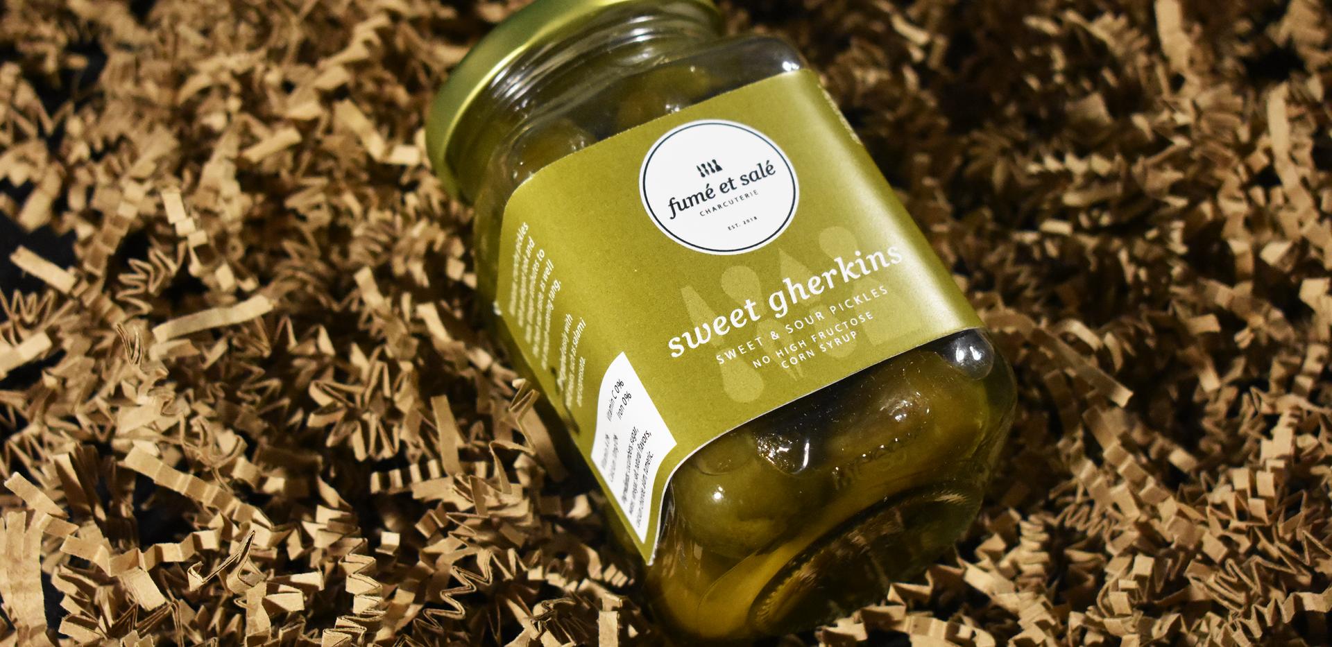 Fumé et Salé | Sweet Gherkin Pickles