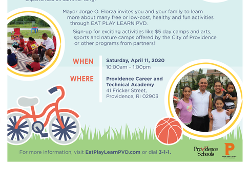 Eat Play Learn Expo Flyer