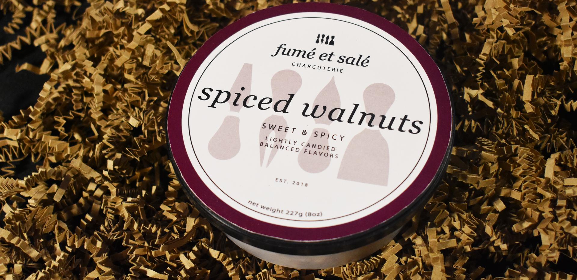 Fumé et Salé | Spiced Walnuts Top