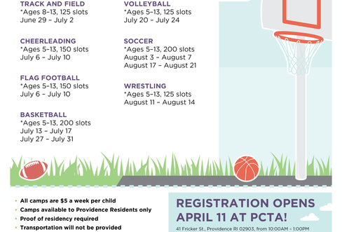Summer Sports Flyer