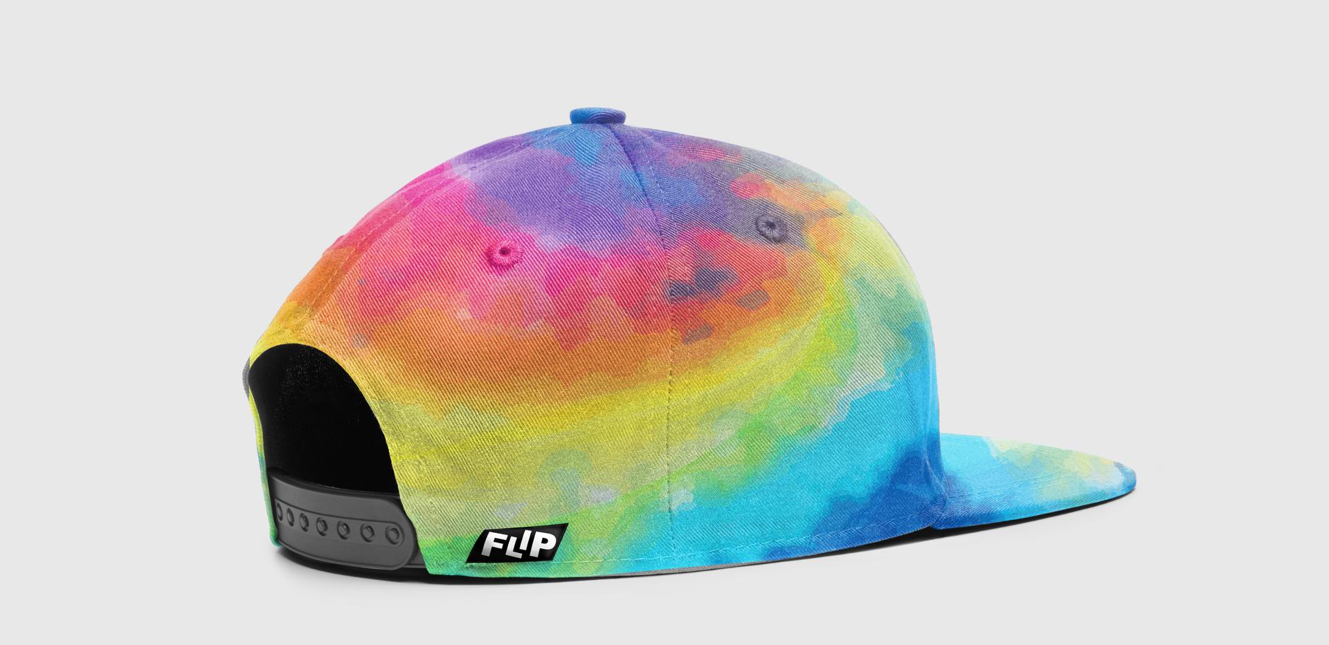 FLIP Apparel Co. | Tie Dye Hat Back