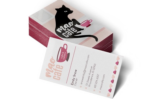 Mao Cafe | Business Cards