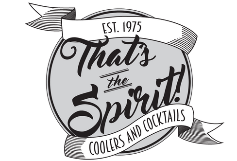That's The Spirit | Bottle Logo