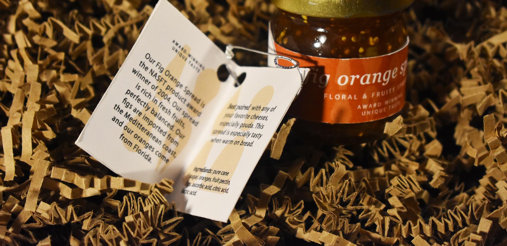 Fumé et Salé | Fig Orange Spread Open