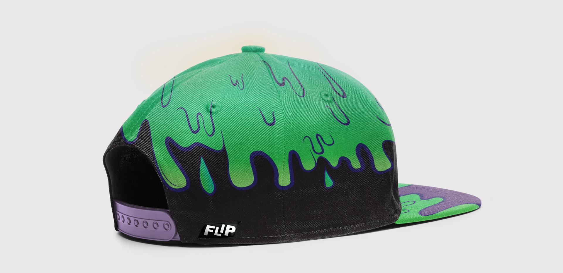 FLIP Apparel Co. | Slime Hat Back