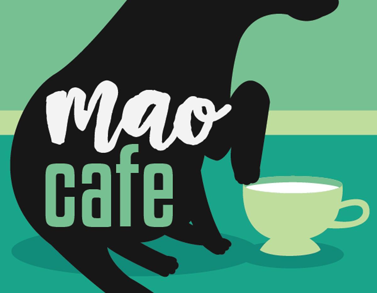 Mao Cafe   Previous Business Card Back